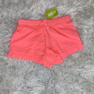 Crazy 8 Girls Neon Ruffle Shorts- S (5/6)